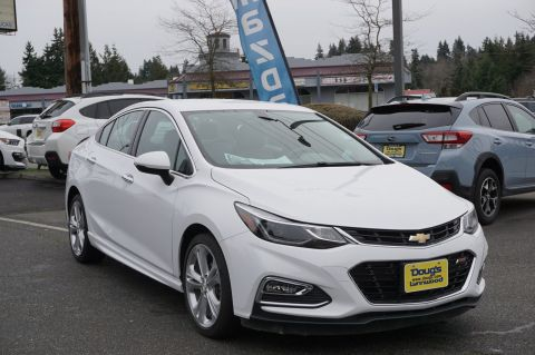 Pre-Owned 2017 Chevrolet Cruze Premier 4dr Car