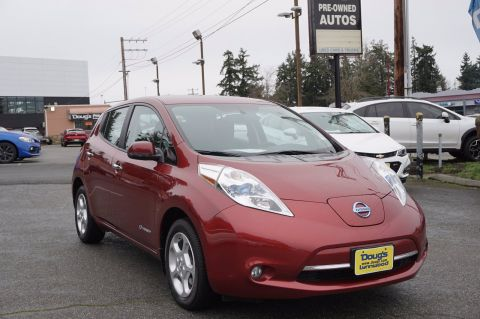 Pre-Owned 2015 Nissan LEAF SV Hatchback
