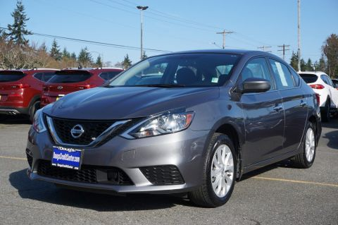 Pre-Owned 2018 Nissan Sentra SV 4dr Car