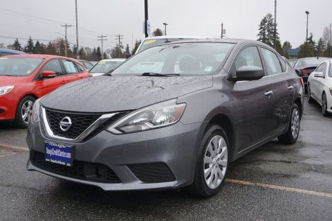 Pre-Owned 2018 Nissan Sentra S 4dr Car
