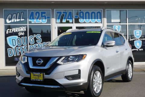 Pre-Owned 2017 Nissan Rogue SV Hybrid AWD Sport Utility