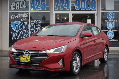 New 2020 Hyundai Elantra SEL 4dr Car