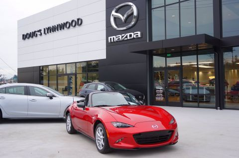 Pre-Owned 2016 Mazda MX-5 Miata Sport Convertible