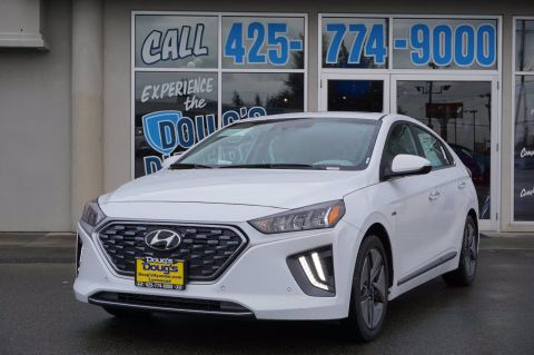 New 2020 Hyundai Ioniq Hybrid Limited Hatchback