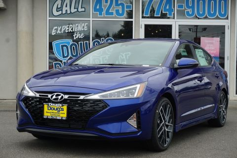 New 2020 Hyundai Elantra Sport 4dr Car